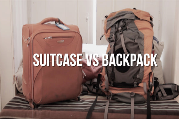 Suitcase or Travel Backpack, which one is better for short-term travel