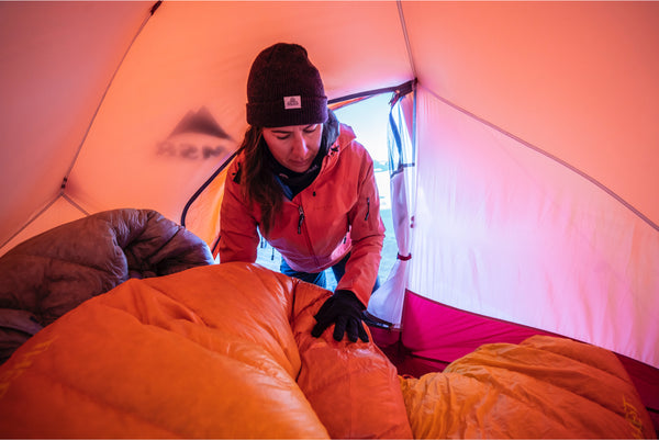 Tips for Staying Warm While Camping