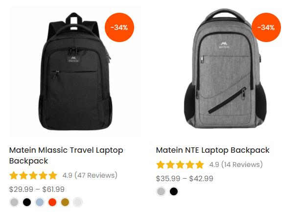 backpacks with lots of pockets