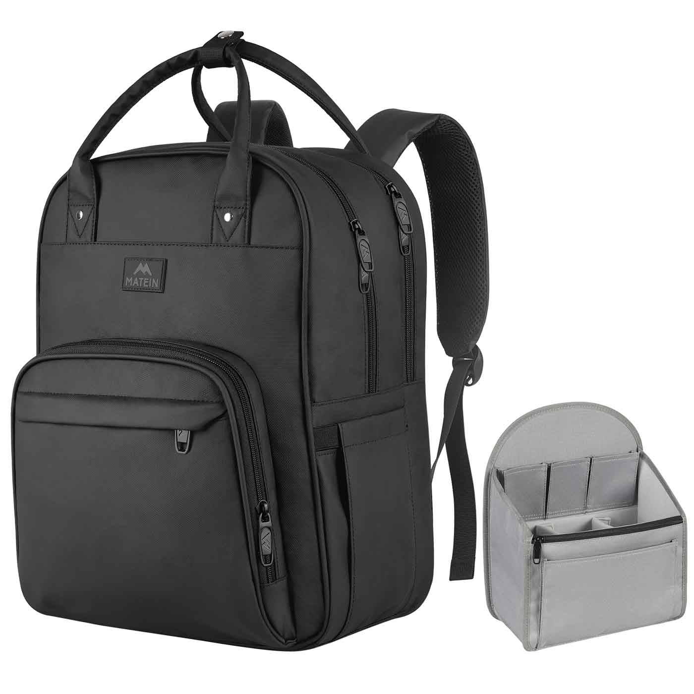 Matein KT Rolling Briefcase - travel laptop backpack