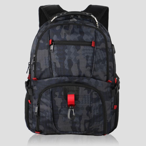 Matein TSA Travel Backpack Camo Green - travel laptop backpack