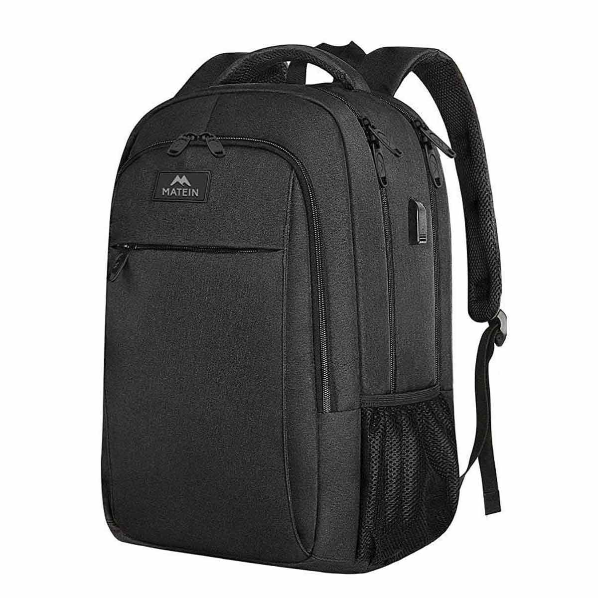 Matein Mlassic Travel Laptop Backpack - travel laptop backpack