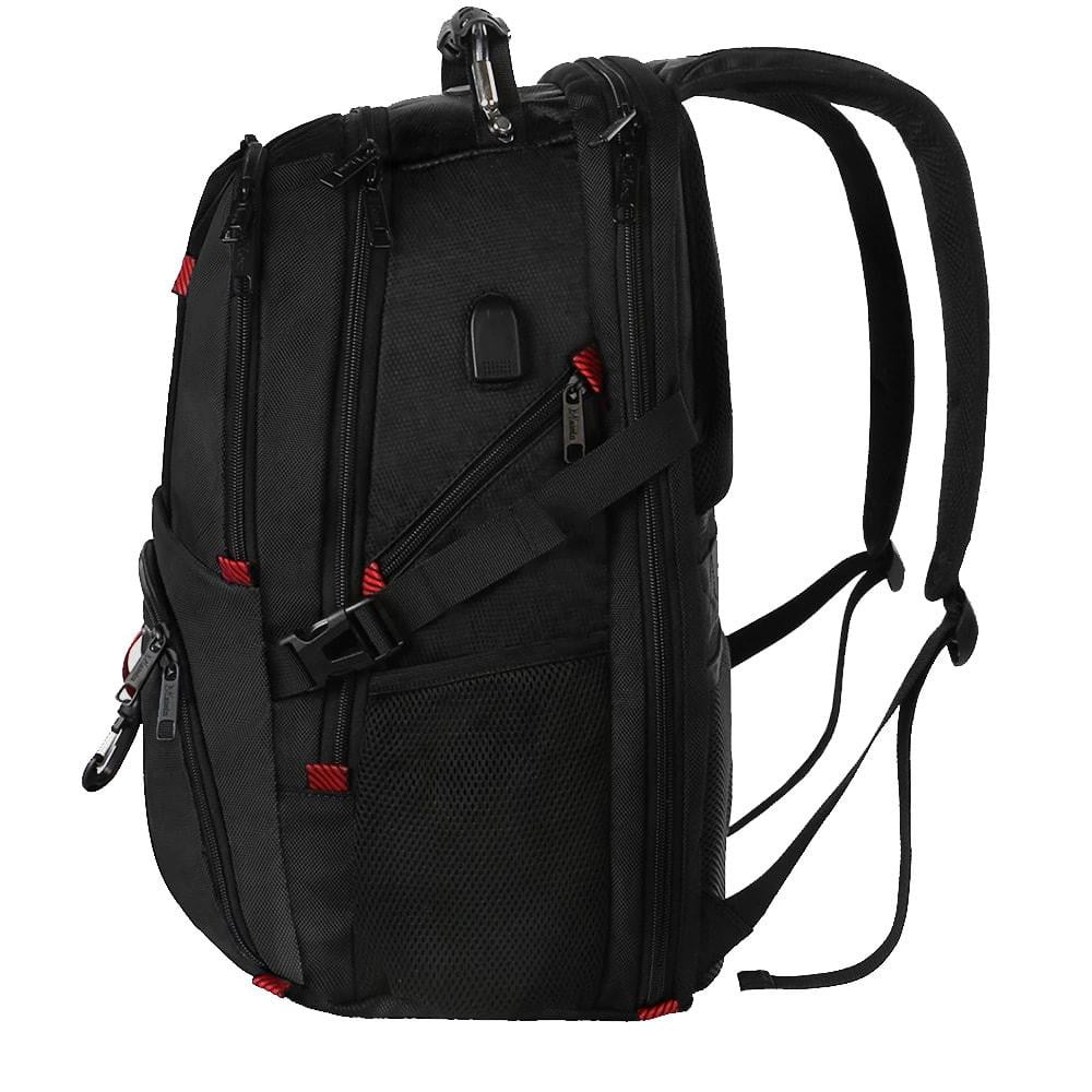 Matein TSA Travel Backpack Red - Matein