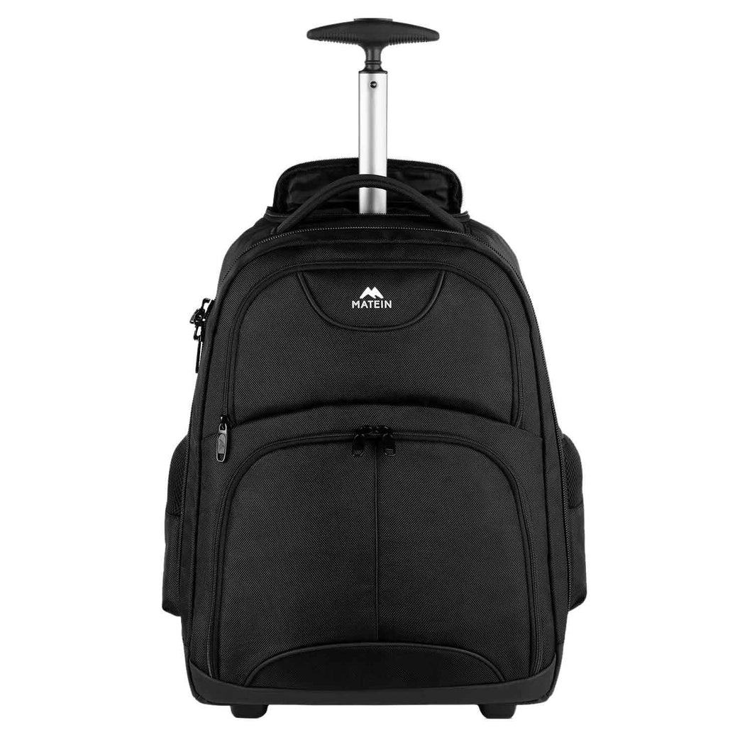 Matein Wheeled Rolling Backpack - Matein
