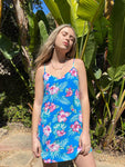 Lilou Dress - Blue Hawaii