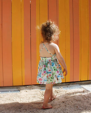 Baby Dandelion Dress - Aloha