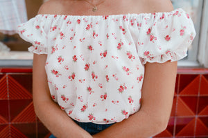 Penny Lane Top - Ditsy Floral
