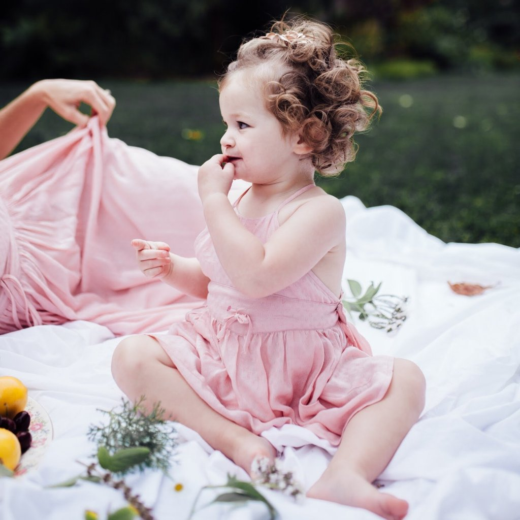 Baby Dandelion Dress - Petal