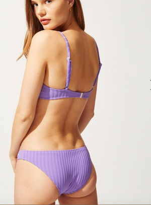Eva Bottom - Violet Rib
