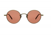 Garrett Leight - Lovers Sunglasses - Gold/Amber