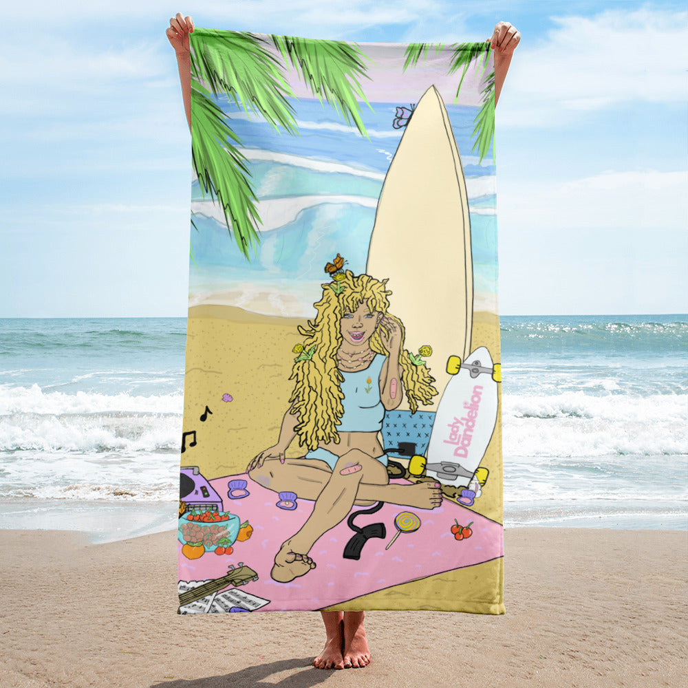 Lady Dandelion Towel