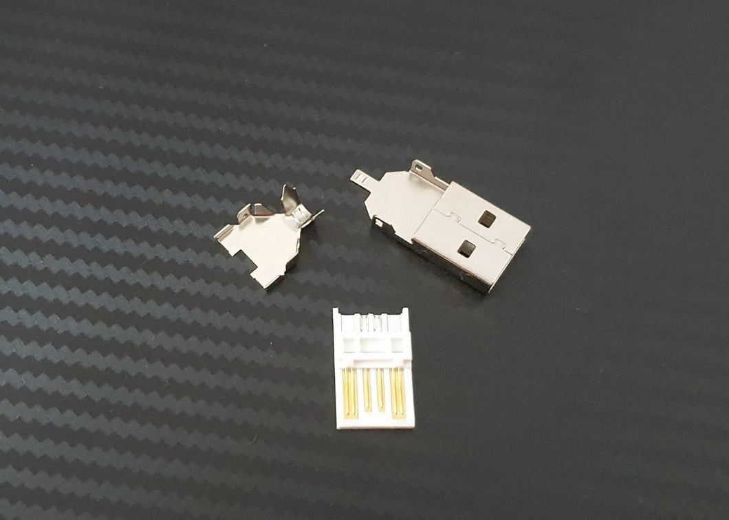 USB 2.0 Connector- WHITE