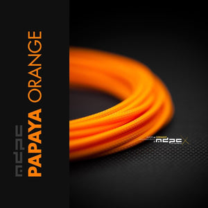 Sleeving per meter- Papaya-Orange SML