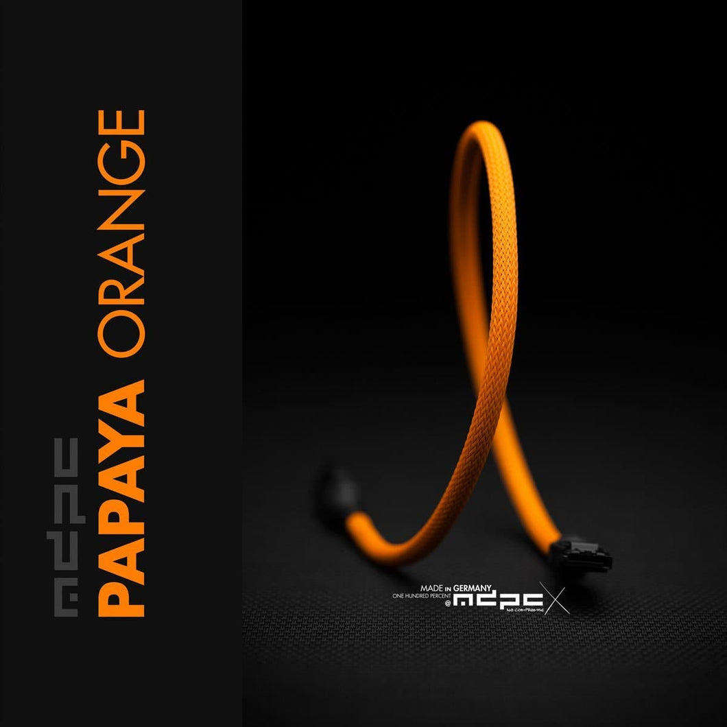 Sleeving per meter- Papaya-Orange MED