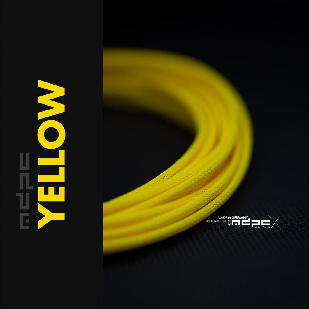 Sleeving per meter- Yellow SML