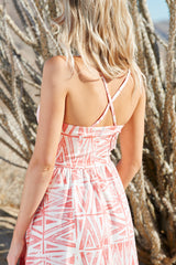 PALM CANYON DRESS - Viva Sunset