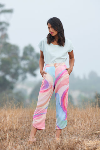 EXPRESSION PANT - Music Print