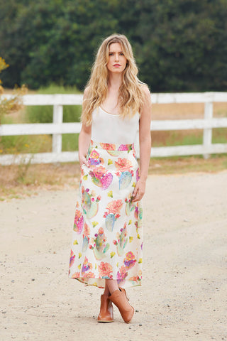 AMERICANA SKIRT - Desert Bloom