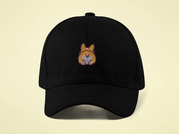 Corgi Butt - Baseball Cap (COMING SOON!) - Prof. Doggo