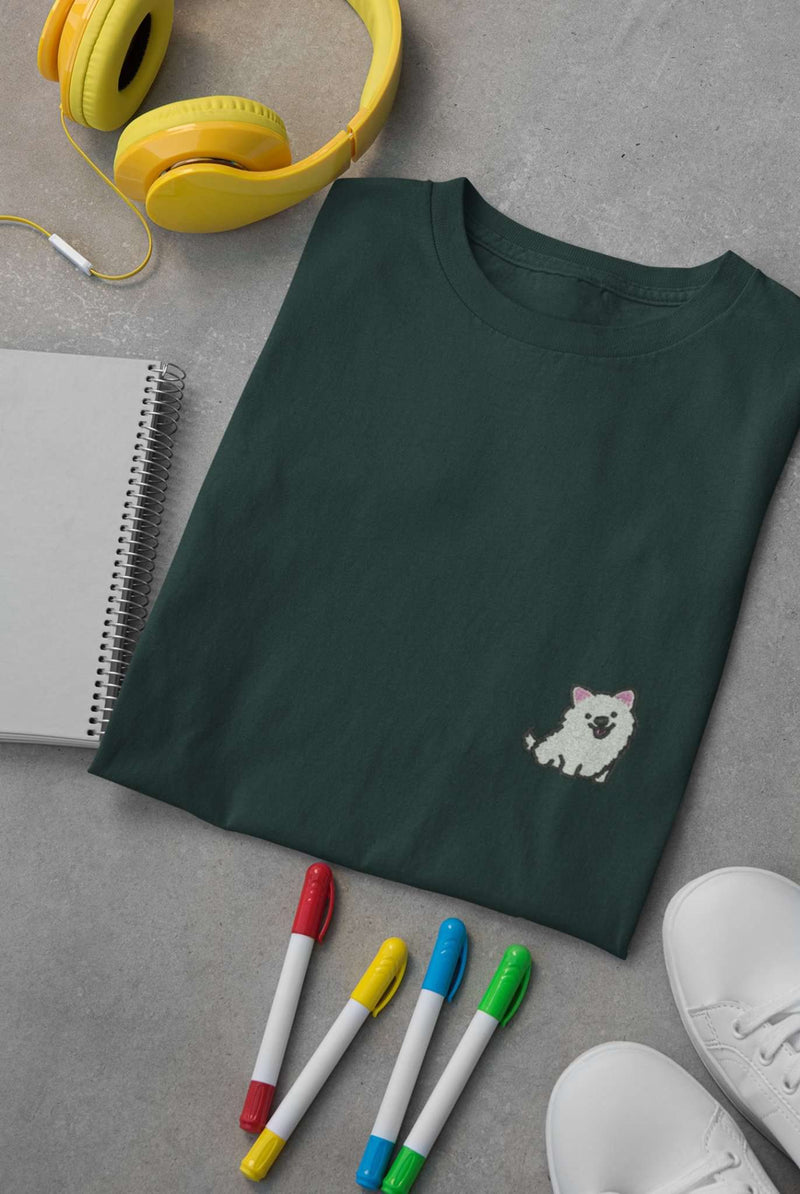 Samoyed - Short Sleeve Unisex Tee - Prof. Doggo
