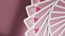 Load image into Gallery viewer, Cherry Casino Flamingo Quartz (Pink) Playing Cards