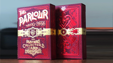 The Parlour Playing Cards (Red Variant)