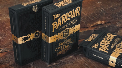 The Parlour Playing Cards (Black Variant)