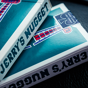 Jerry's Nugget (Vintage Feel - Aqua)