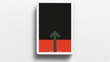 Load image into Gallery viewer, Offset Orange Playing Cards