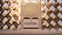 Load image into Gallery viewer, Esoteric Gold Marked Playing Cards
