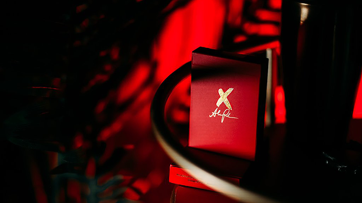 X Deck (Red) Signature Edition Playing Cards