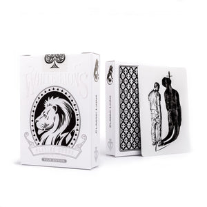 David Blaine White Lions Tour Black Reverse