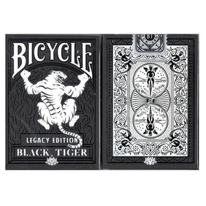 Legacy Black Tiger Playing Cards