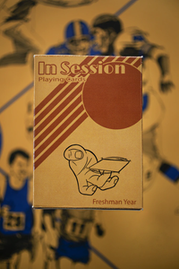 In Session Playing Cards - Freshman Year