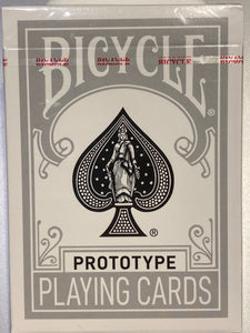 Bicycle Black Foil Prototype deck