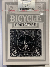 Load image into Gallery viewer, Bicycle Black Foil Prototype deck