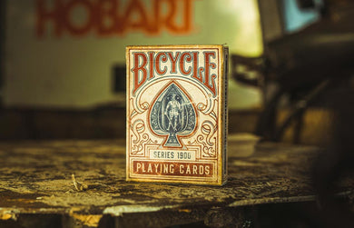 Bicycle 1900 Playing Cards - Red
