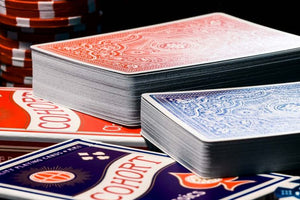 Blue Cohort Vintage Casino Playing Cards