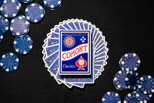 Load image into Gallery viewer, Blue Cohort Vintage Casino Playing Cards