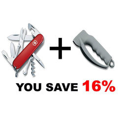 Victorinox Climber & Sharpener, Swiss Army Knife