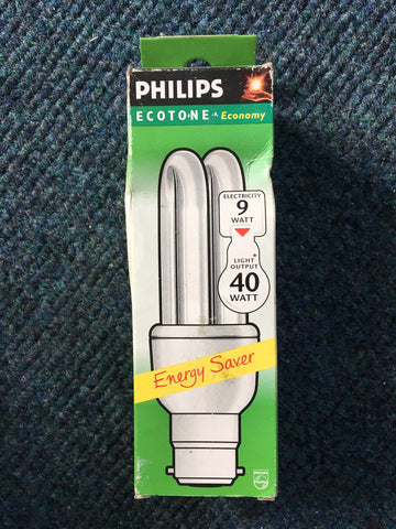 Philips BC B22 9w 11w Energy Bulb - Whiztek Ltd