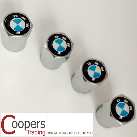 BMW Chrome Dust Valve Caps - Whiztek Ltd
