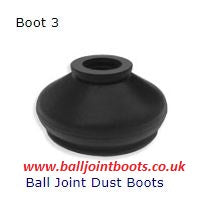Boot 3 Ball Joint Dust Boots (1 pair)