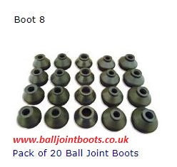 Boot 8 Pack of 20 Ball Joint Boots