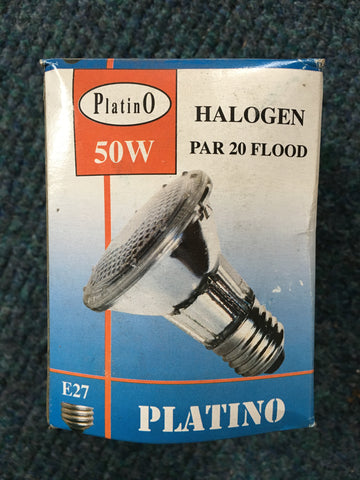 Platino ES E27 Halogen Par 20 Flood - Whiztek Ltd