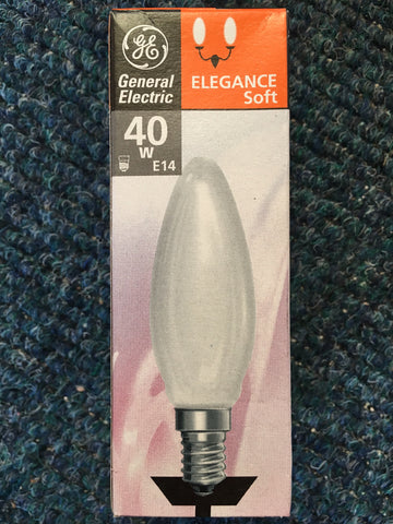 General Electric ES E14 Candle Bulb - Whiztek Ltd