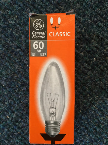 General Electric E14 E27 Candle Bulb - Whiztek Ltd