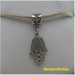 Hamsa Hand Family Dangle Charm