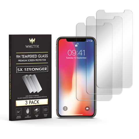 iPhone XS Max Premium Tempered Glass Protector - Whiztek Ltd