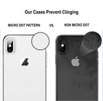 iPhone 7/8 Silicone Clear Phone Case - Whiztek Ltd